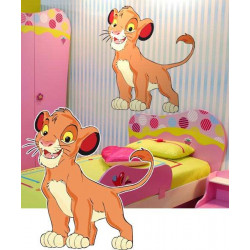 STICKER LE ROI LION (DA0029)