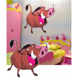 STICKER PUMBA LE ROI LION (DA0031)
