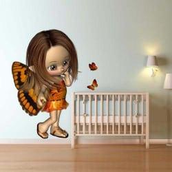 STICKERS POUR ENFANTS ELFE 3D (E0224)
