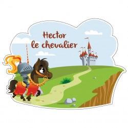 STICKER PERSONNALISATION CHEVALIER (E0267)