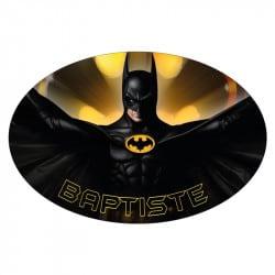 PLAQUE DE PORTE PERSONNALISABLE BATMAN (E0365)
