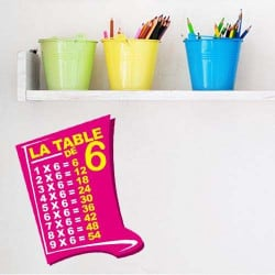 STICKER TABLE DE MULTIPLICATION (I0024)