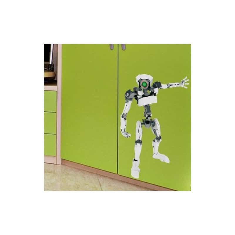 STICKERS ROBOT RETRO (N0021)