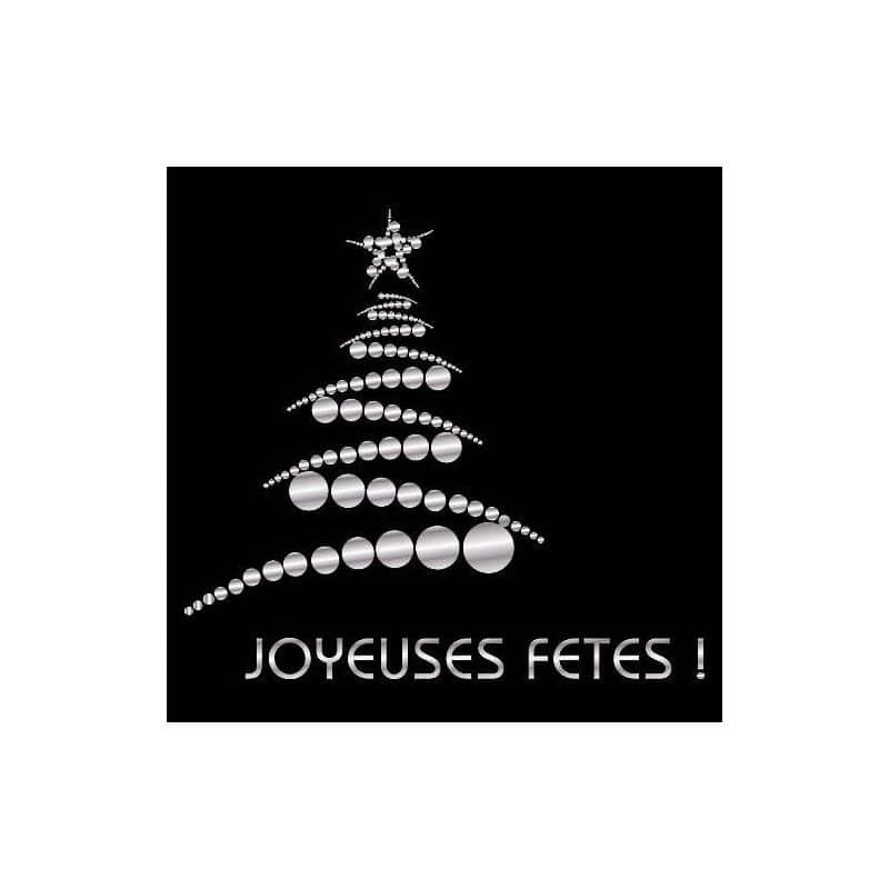 STICKERS SAPIN-JOYEUSES FETES (O0098)