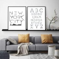 POSTER NEW YOK CITY GRAPHIQUE (POST0021)