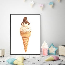 POSTER GLACE CHOCO (POST0073)