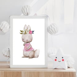POSTER LAPIN CUTY (POST0080)