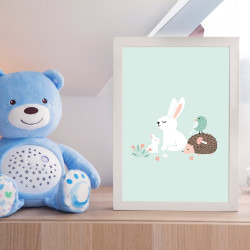 POSTER LAPIN FRIENDS (POST0083)