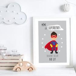 POSTER SUPER HEROS (POST0111)