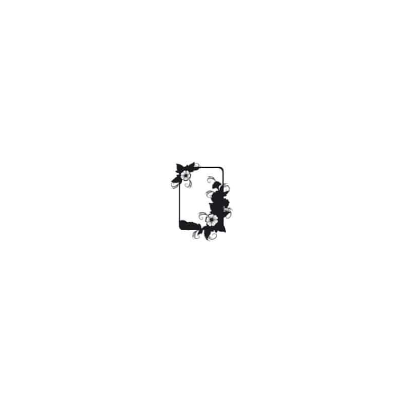 STICKER CADRE FLORAL 2 (A0002)