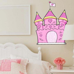 STICKERS CHATEAU PRINCESSE (E0120)
