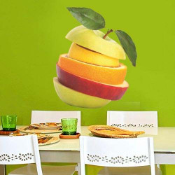 STICKERS FRUITS COUPE (A0141)