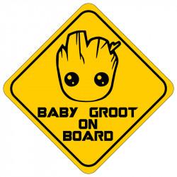 STICKER BABY GROUT ON BOARD (J0106)