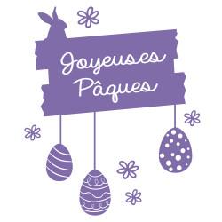 STICKER JOYEUSES PAQUES (PAQUES003)