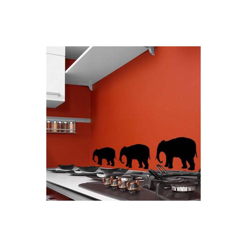 "STICKER ARDOISE ""ELEPHANT"" (P0006)"