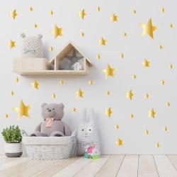 PLANCHE DE FORME GEOMETRIQUE BABY STARS (PL0049)