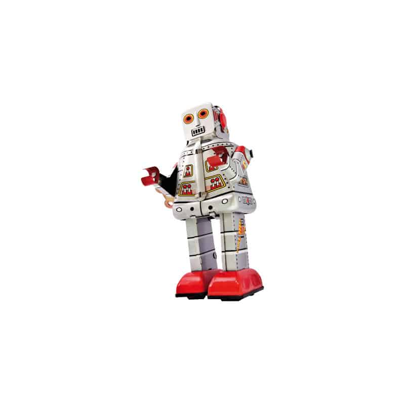 STICKERS EN FORME DE ROBOT (N0018)