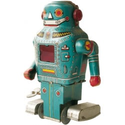 STICKERS ROBOT RETRO (N0020)