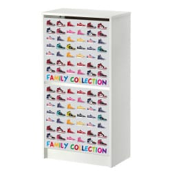STICKERS FAMILY COLLECTION MEUBLE BISSA IKEA 2 CASIERS MIBISSA010