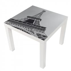 STICKER EIFFEL TABLE LACK IKEA MILACK003