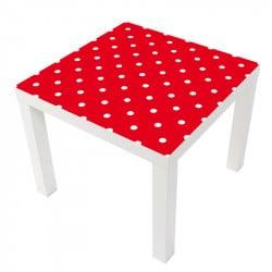 STICKER AVEC DES POIS TABLE LACK IKEA MILACK007