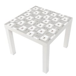 STICKER OURSON TABLE LACK IKEA MILACK010