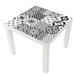 STICKER CARREAU CIMENT TABLE IKEA MILACK016