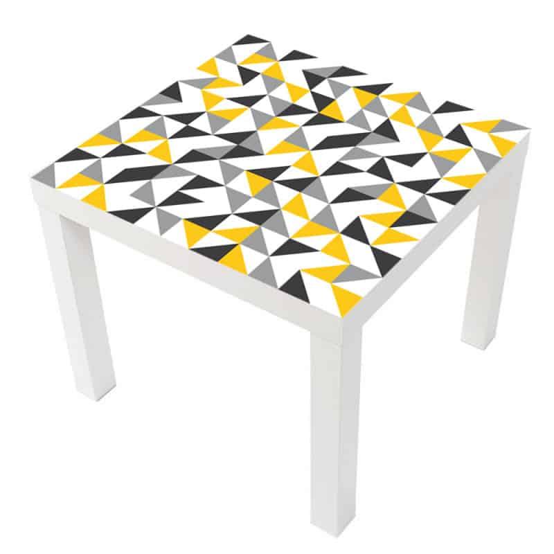 STICKER TRIANGLES TABLE LACK IKEA MILACK017