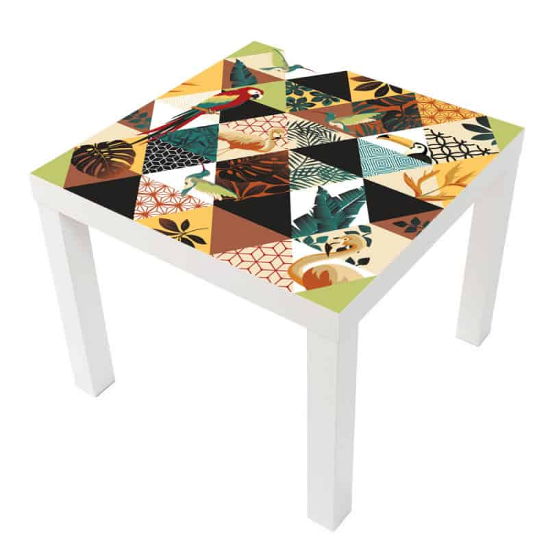 STICKER ARAS TABLE IKEA MILACK029
