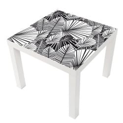 STICKER ABSTRACT TABLE IKEA MILACK031