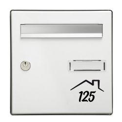 STICKER BOITE AUX LETTRES HOME (BOX_LETTER003)