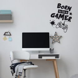 STICKER BORN TO BE A GAMER...