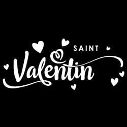 STICKER VITRINE ST VALENTIN...