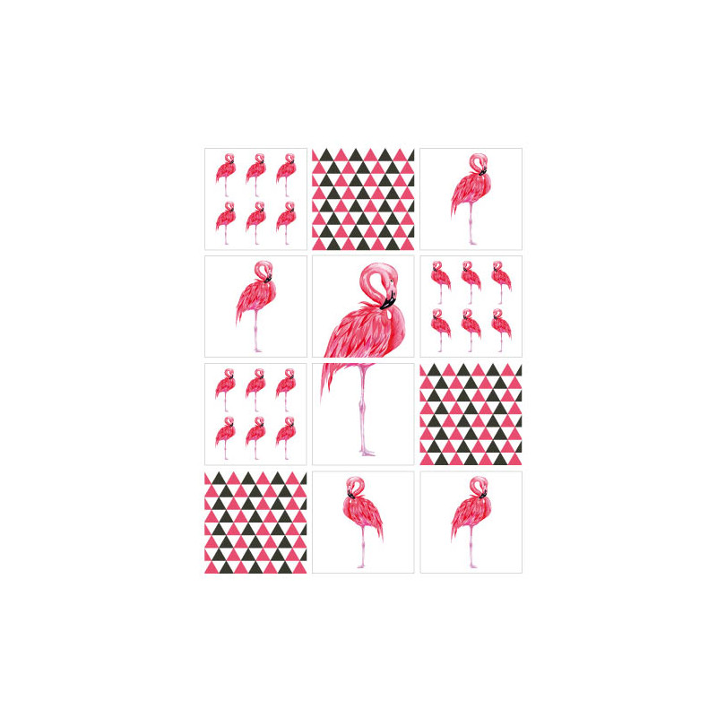 STICKERS CARRELAGES FLAMANDS (CARR0025)