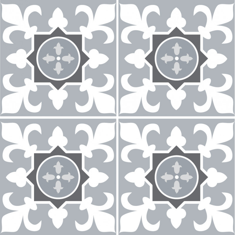Adhesif Carrelage Sol - Vendu a l'unite - SAOGREY (CARRSOL003)
