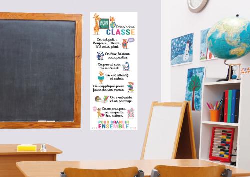 Règle de l'école