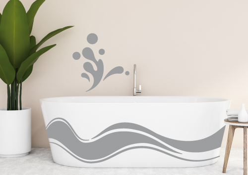 Décoration douche & baignoire